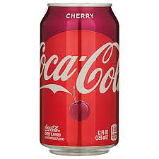 Foto Blik cherry cola